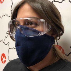 Gafas y mascarillas protección