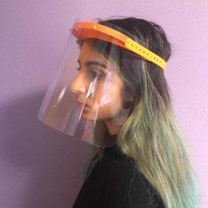 Pantallas faciales protección